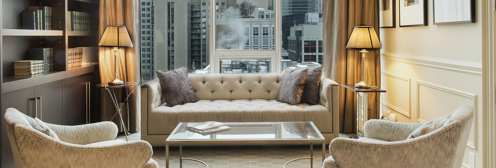 Penthouse Suite, Presidential Suite: SoHo Metropolitan Hotel   Toronto  Luxury Hotel, Toronto Boutique Hotel In Downtown Toronto